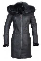 Lammy Coat Dames Crack Brisa