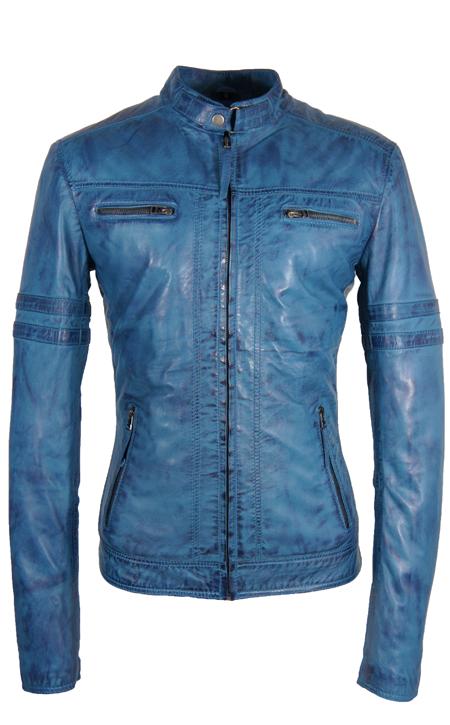 De heren jas lamsleder blauw Versano TR47 is ook weer zo'n mooie jas, een perfect getailleerd topmodel dat mooi om uw lichaam heen sluit. Het is een jas met twee diepe steekzakken en mooi afgewerkt met een subtiele biker look op de schouders en mouwen.
