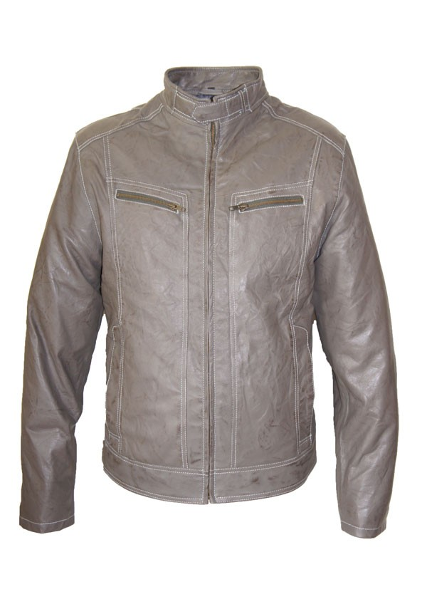 Ongekend Leather Palace Grijze leren jas heren MG-71