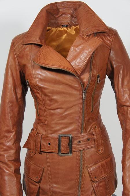 Leren Jas Dames Bruin.Leather Palace Leren Jas Dames Bruin