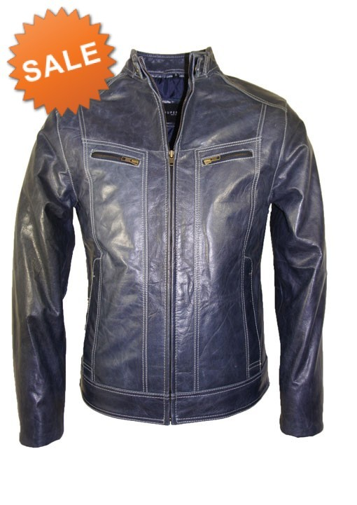 Onwijs Leather Palace heren leren jas bruin buffelleer TI-42