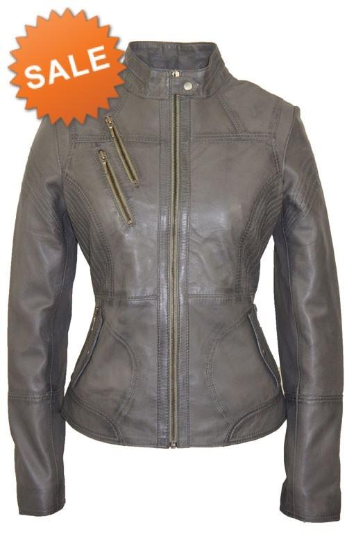 Leather Palace Bruin leren jasje dames