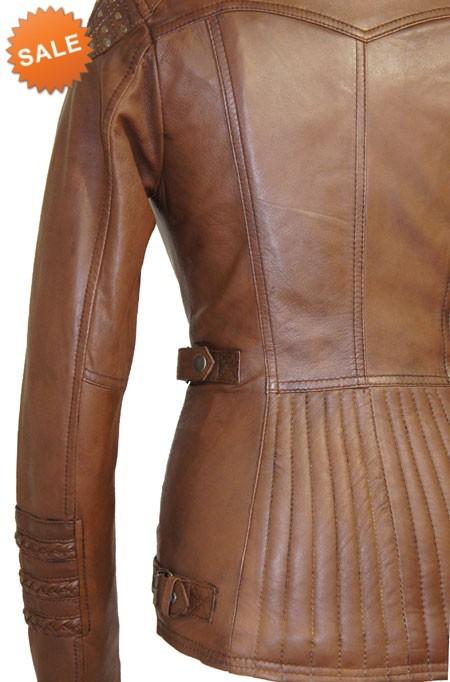 Leren Jas Dames Bruin.Leather Palace Bruine Leren Jas