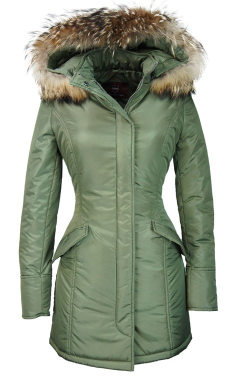 Parka Winterjas Dames.Leather Palace Dames Winterjas Met Bont