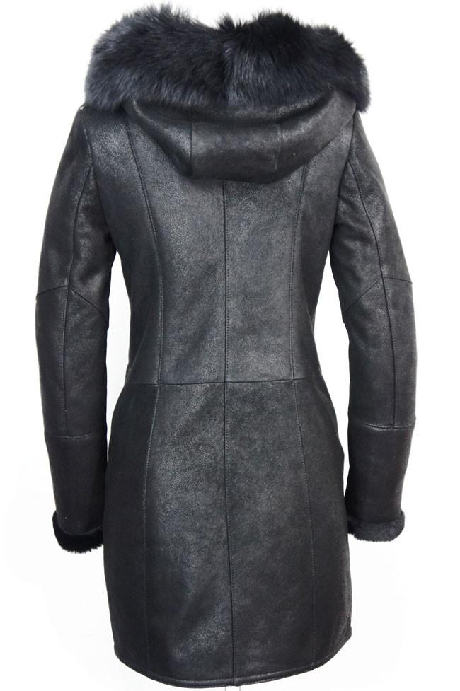 Leather Palace lammy coat dames