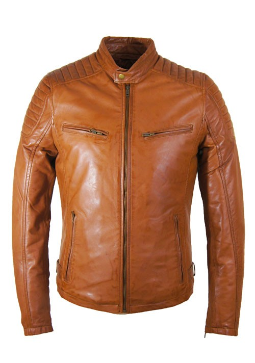 Leather Palace heren leren jas