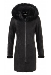 Lammy Coat Dames Crack Brisa