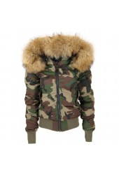 camouflage jas kort 16025